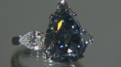 Christie's to auction £25m blue diamond