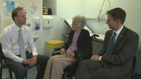 Jeremy Hunt:'Single biggest change' to NHS