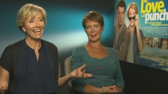 Emma Thompson and Celia Imrie talk Love Punch