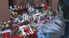 Hillsborough memorial: Liverpool fans pay respects