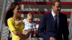William and Kate arrive in Oz