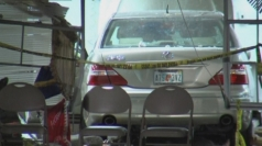 Car crashes through Florida church during Easter service