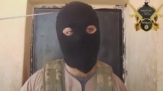 Hooded British 'jihadists' in Syria give tour of their home