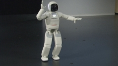 Dexterous humanoid robot dances through European debut