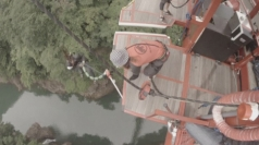 Man bungee jumps 158 times in 24 hours to set World Record