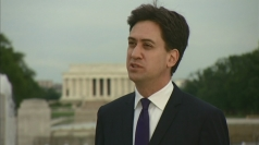 "Ed Miliband: ""A strong cooperation with US essential"""