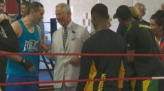 Charles and Camilla meet Commonwealth Games athletes