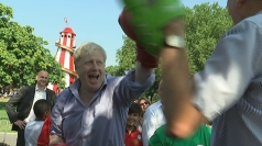 Boris tries his hand at boxing and softball