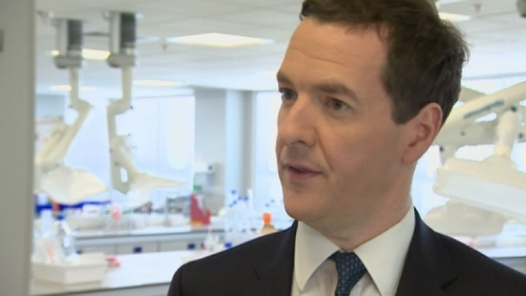 "Osborne: IMF upgrade ""evidence economic plan is working"""