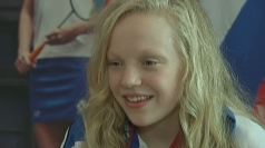 Erraid Davies is youngest ever Commonwealth Games winner