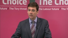Andy Burnham lays out Labour plans for NHS