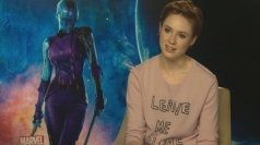 Karen Gillan talks fighting and shaving off her hair