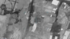 Video shows ground and air attacks against 'Hamas targets'