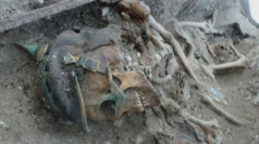 Skeletons of WW1 soldiers discovered in former trenches