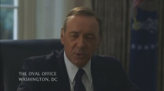 Kevin Spacey helps Hillary Clinton prepare for Bill's 68th