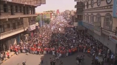 Thousands of Yemenis stage anti-government protest in Sanaa