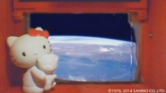 Japan sends Hello Kitty into space