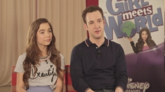 Rowan Blanchard and Ben Savage talk Girl Meets World