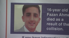 Police appeal to Fazan Ahmed hit and run driver