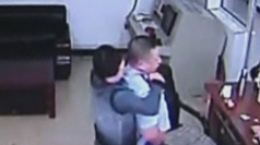 CCTV captures inmates escaping from Chinese detention centre