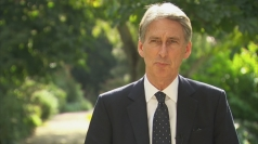 """Philip Hammond: """"no decision on airstrikes as of yet"""""""