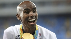 The first British track and field athlete to win 3 golds