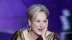 Meryl Streep wins Best Actress at the Oscars.