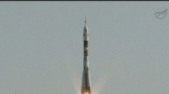 The Soyuz is set to transfer astronauts to the ISS.