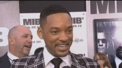 Will Smith works his magic on the red carpet in New York.