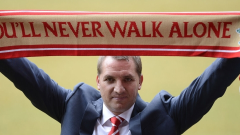 Brenan Rodgers is new manager of Liverpool