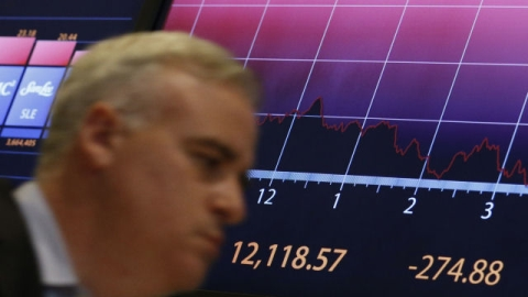 The Dow Jones closed down 275 points over Euro fears.