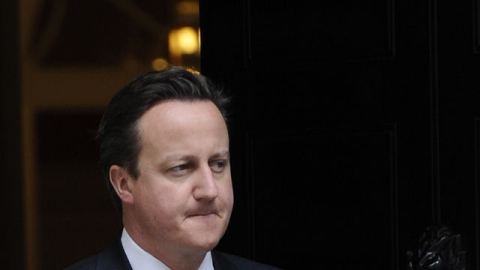 David Cameron tops the Leveson bill next week.