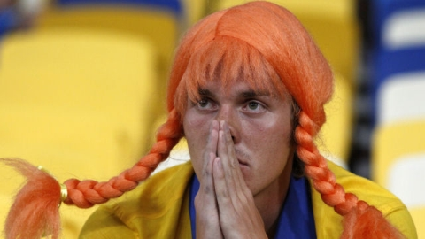 Swedish fans were left devastated by the shock loss.