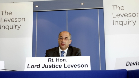 Lord Justice Leveson reportedly threatened to quit.