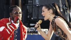 Jessie J and William at the Jubilee concert June 2012