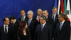 G20 leaders are meeting in Los Cablos, Mexico.