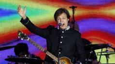 Sir Paul McCartney performing at the Jubilee concert