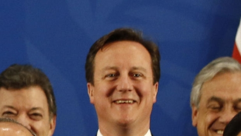 Cameron at the G20 meeting in Mexico.