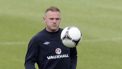 Wayne Rooney is a regular penalty taker for his club.