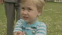 Prince William at 2 years old.