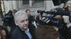 Julian Assange gives radio interview from Ecuadorian embassy