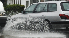 Almost 100 flood warnings have been issued.