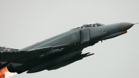 The jet, similar to that seen here, crashed on Friday.