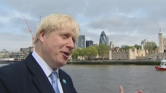 Boris Johnson explains what he believes the rings symbolise.