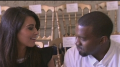 Kim Kardashian and Kanye West get loved up