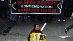 Service to mark the 40th anniversary of Bloody Sunday.