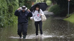 Heavy rain has wreaked havoc in much of the UK.