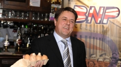 British National Party leader Nick Griffin.