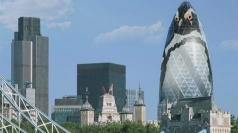 The Gherkin could take on a more Antarctic appearance.