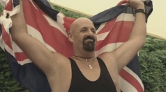 Nasty Nash wins Toe Wrestling Championships in Derbyshire